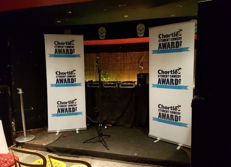 Chortle Student Comedy Awards - Manchester Heat