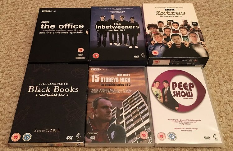 Sitcom DVDs from the 00s